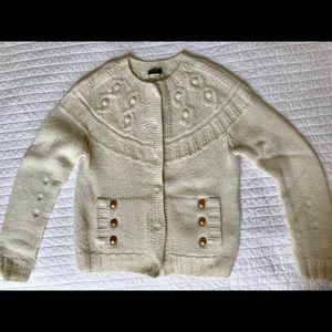 J.Crew Cream Sweater